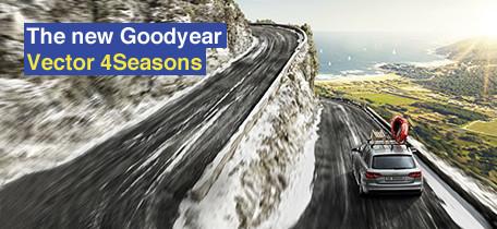 Goodyear Vector 4Seasons Gen - 3 ; Goodyear, Başarılı Dört Mevsim Lastik Serisinin Yeni Modelini Tanıttı ! 1