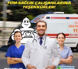 Michelin Türkiye'den Lastik Bağışı ve Ücretsiz Lastik Bakım 5